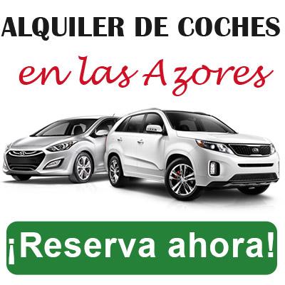 Alquiler coche islas Azores