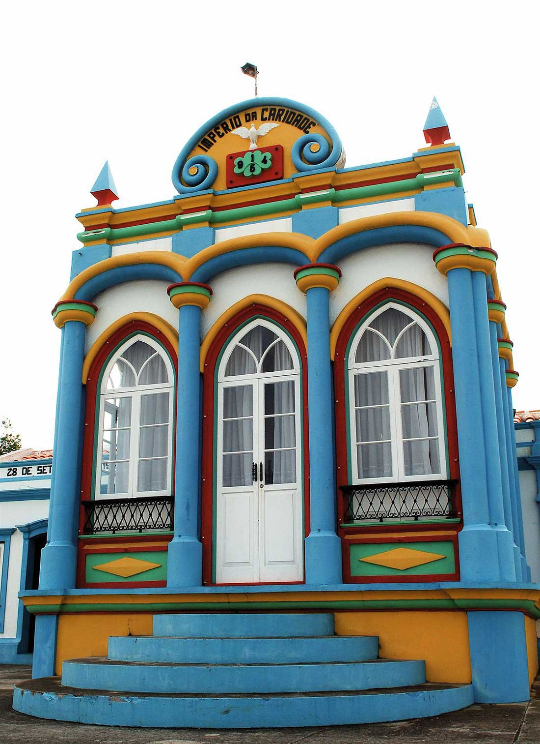Imperio da Caridade en la isla de Terceira