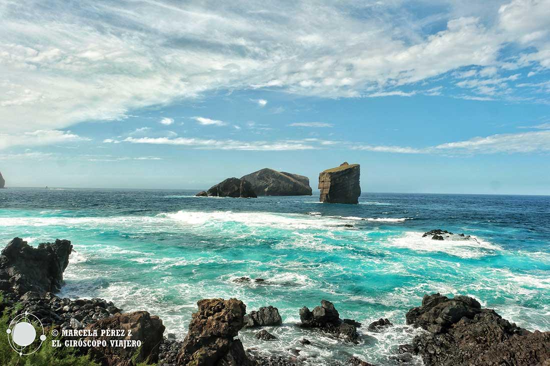 Ilhéu dos Mosteiros en la isla de São Miguel