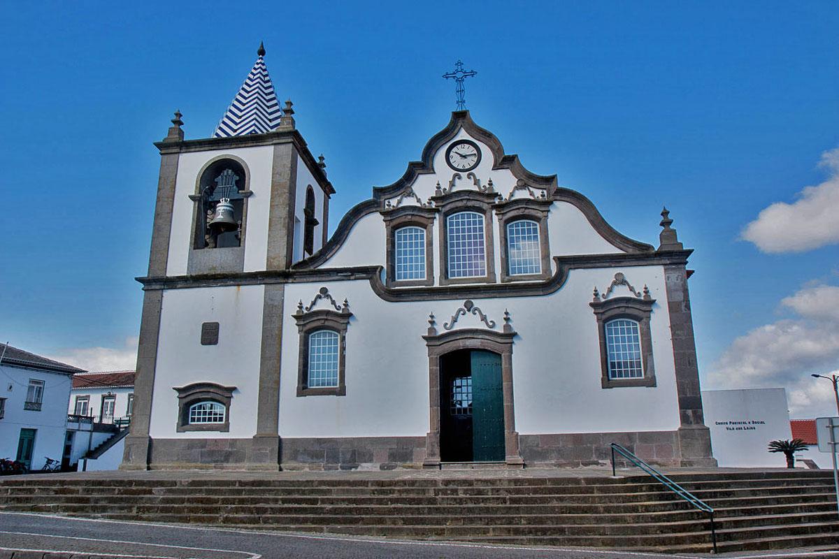 Igreja de São Miguel Arcanjo (Iglesia de San Miguel Arcángel) en Lajes