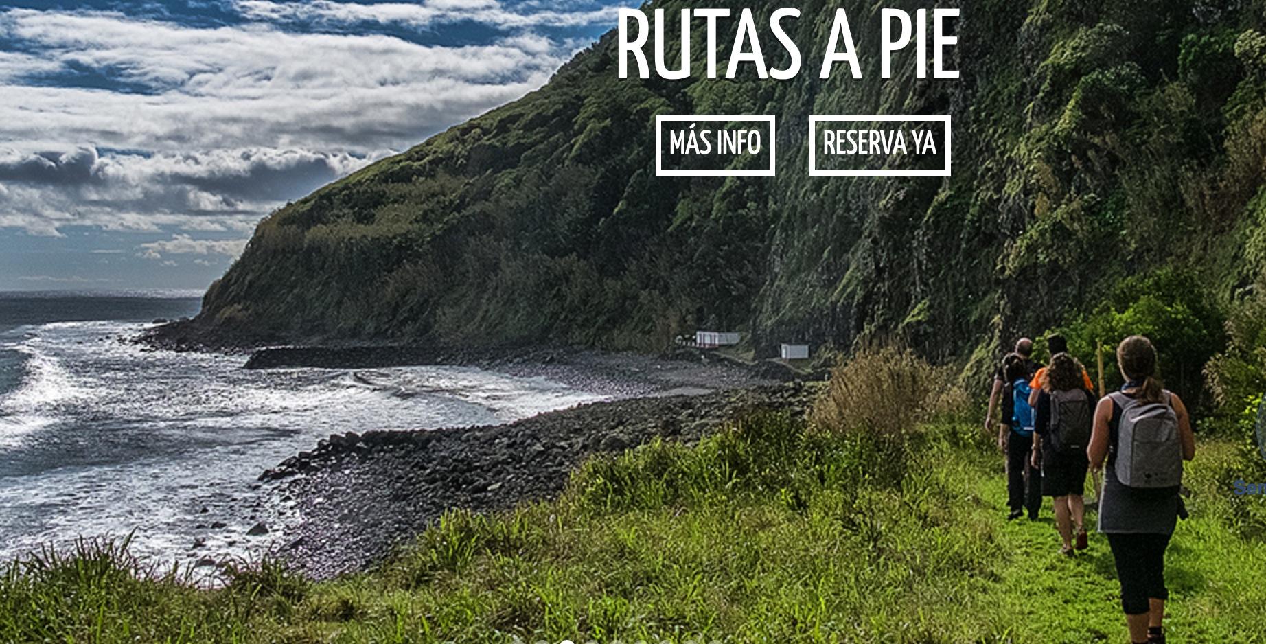 Rutas a pie por las Islas Azores